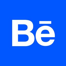 Ícone do app Behance – da Adobe