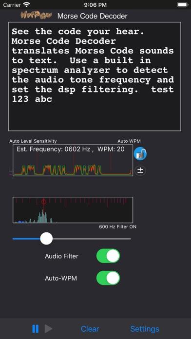 MorseDecoderのおすすめ画像1