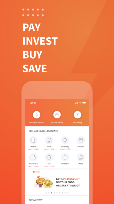 Freecharge - Payments & Wallet screenshot one