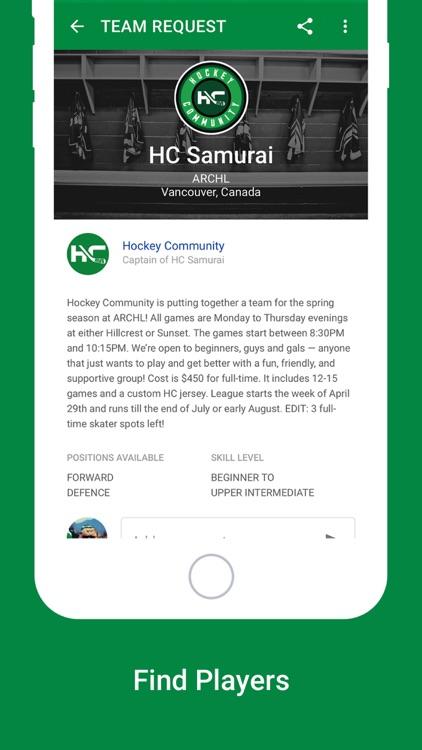 Hockey Community screenshot-4