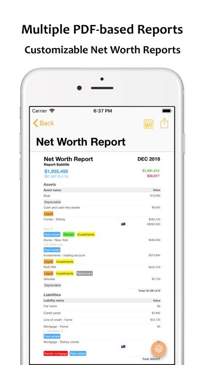 Net Worth Pro 2 screenshot-6