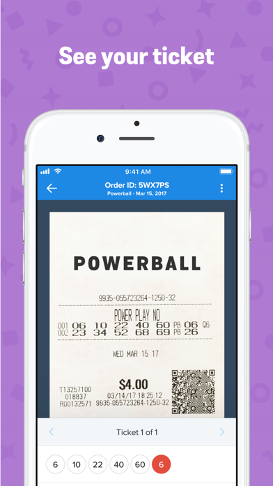 Jackpocket - Play the Lottery by Jackpocket Inc  (iOS