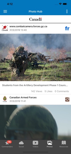 Canadian Forces on the App Store