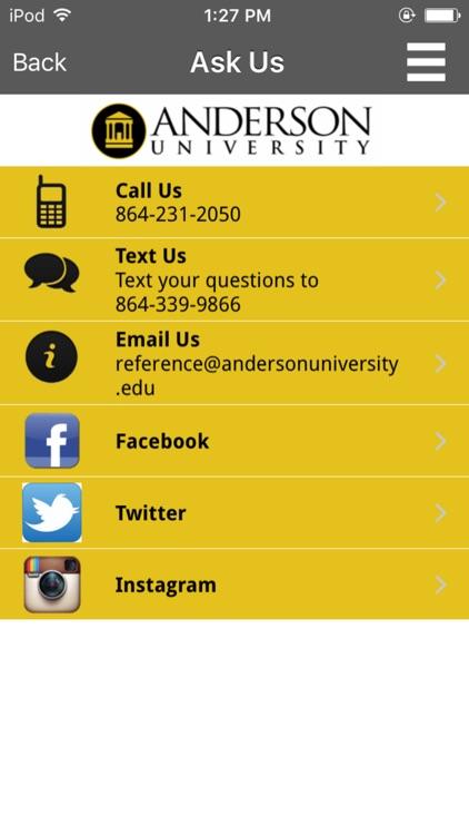 Anderson Univ - Thrift Library screenshot-4