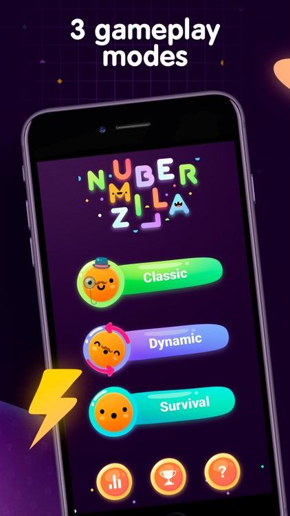 Numberzilla Number Puzzle Game screenshot-3