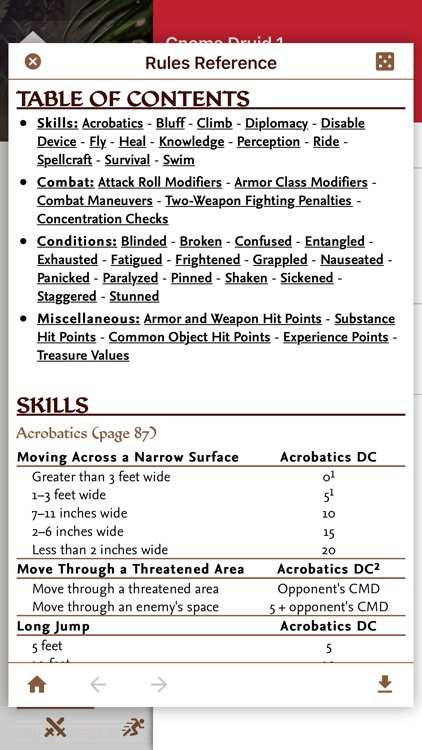 Fight Club PFRPG/3.5 Edition screenshot-8