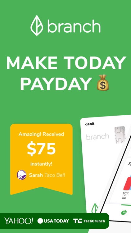 Branch: Budget & Get Paid Now screenshot-0