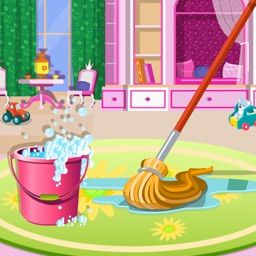 Messy Doll House Cleaner