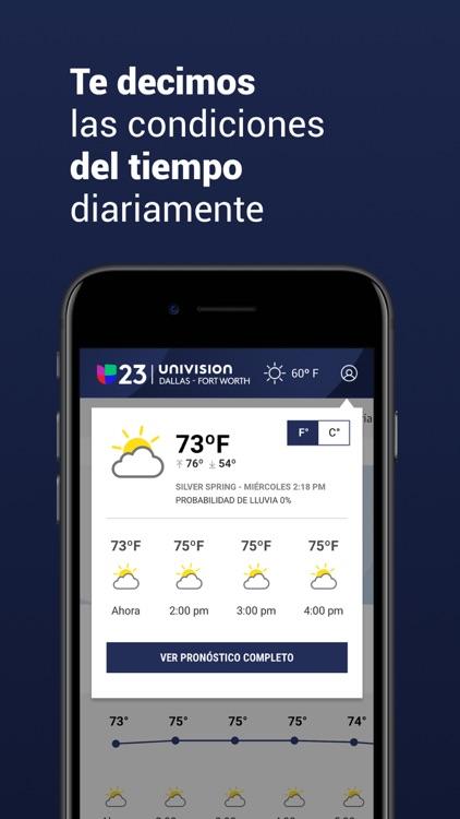 Univision 23 Dallas screenshot-3
