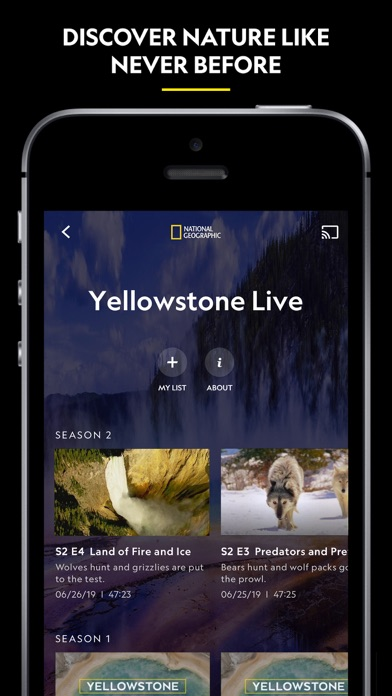 Nat Geo TV: Live & On Demand Screenshot
