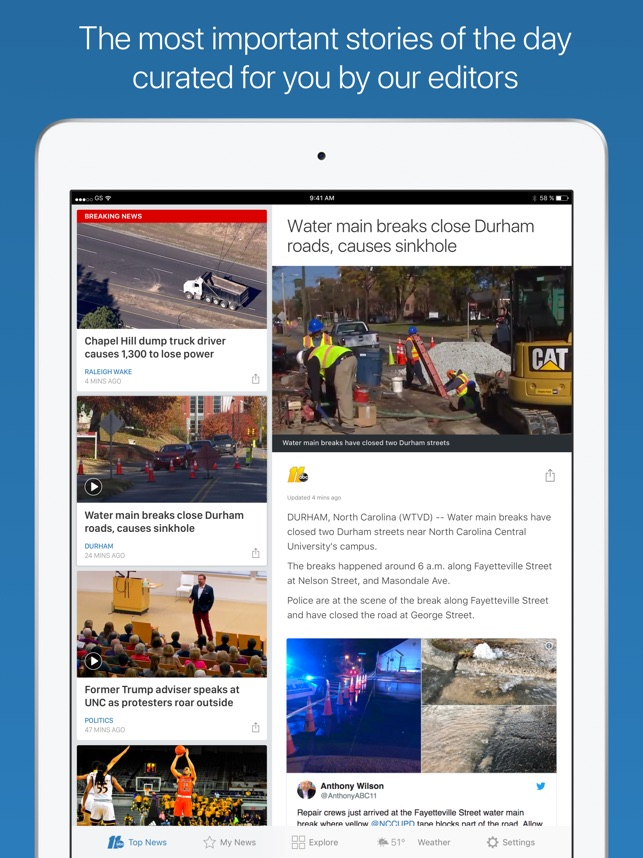ABC11 Raleigh Durham on the App Store