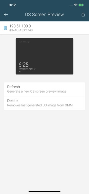 OpenManage Mobile on the App Store