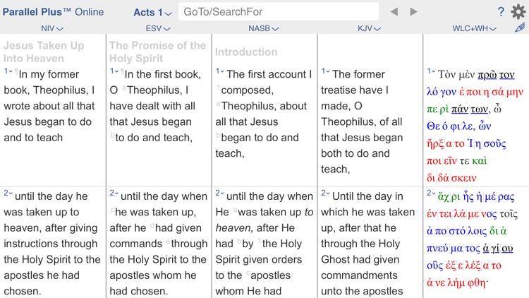 PARALLEL PLUS Bible-study app screenshot-8
