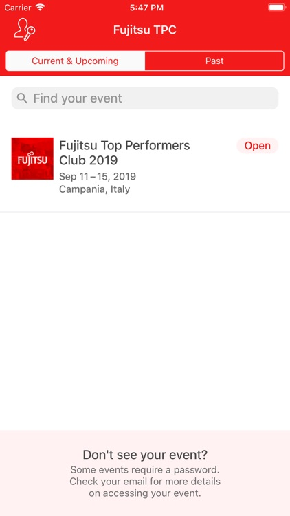 Fujitsu Top Performers Club