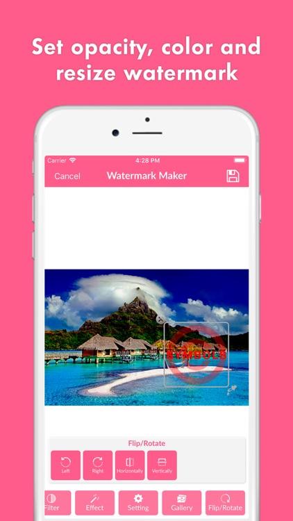 Watermark Photo - Image Editor screenshot-3