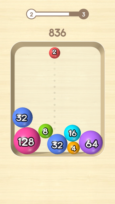 2048 Balls 3D screenshot 2