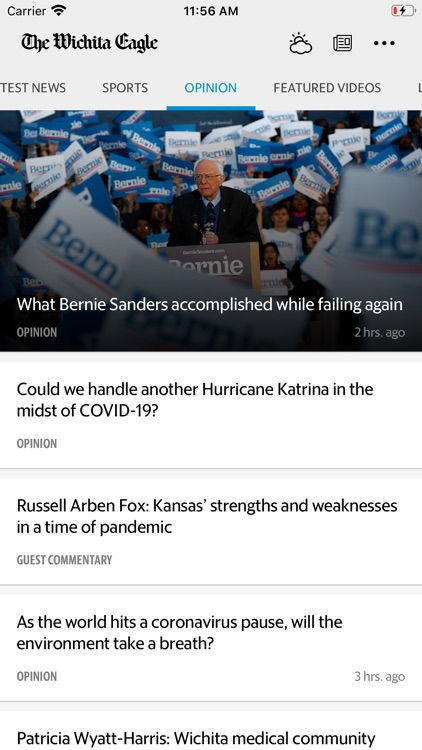 The Wichita Eagle News screenshot-3