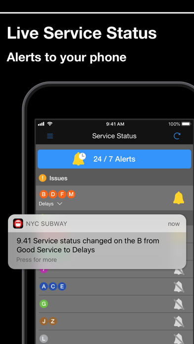 Screenshot for New York Subway MTA Map in United States App Store