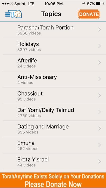 TorahAnytime.com screenshot-3