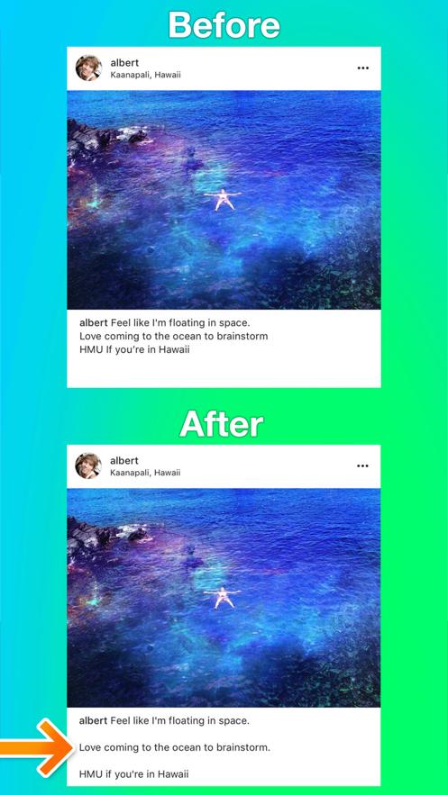 Spacie - Clean Line Breaks App 截图