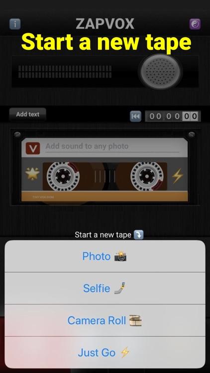 Zapvox Recorder + Slideshows screenshot-5