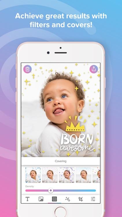 Phonty My Baby - Baby Pics Art screenshot-4