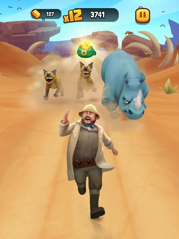 iPad Image of Jumanji: Epic Run