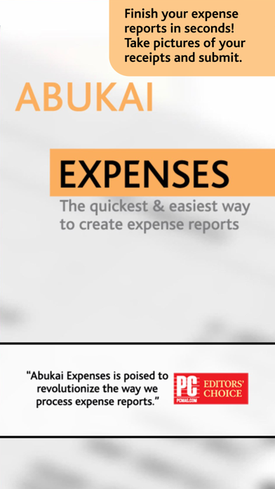 Abukai Expense Reports Receipt review screenshots