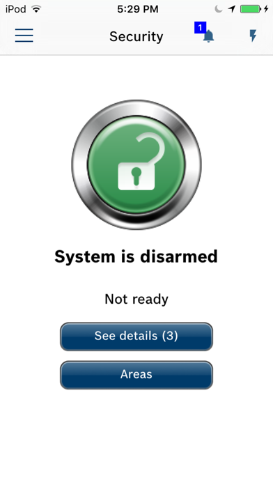 Bosch Remote Security Control+ screenshot three