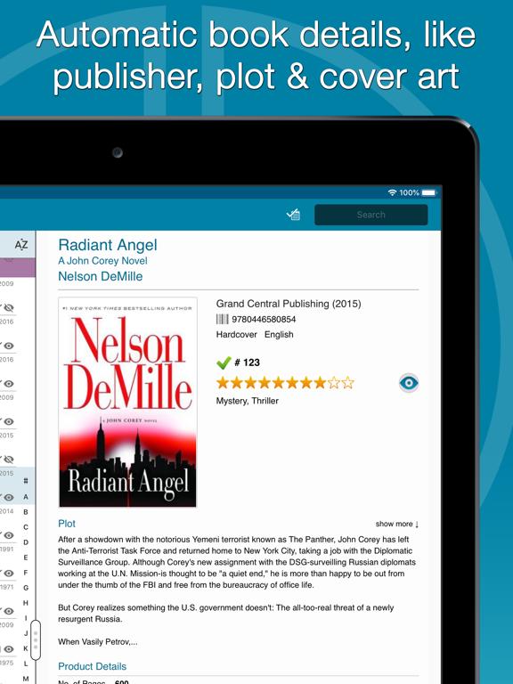 Screenshot #5 pour CLZ Books - Book Database