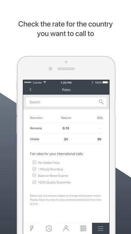 PhoneClub – Best Calling Rates screenshot-3