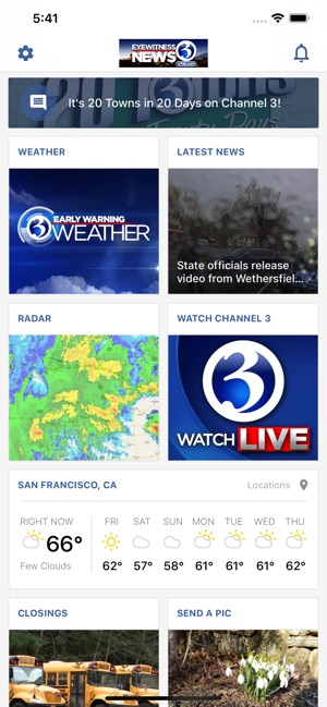 Channel 3 Eyewitness News App