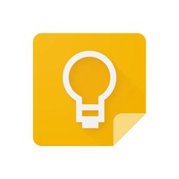 Ícone do app Google Keep: notas e listas