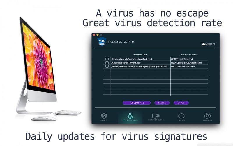Screenshot #3 pour Antivirus VK: Anti-Virus