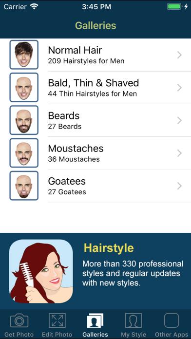 Hair and Beard Styles PROのおすすめ画像10