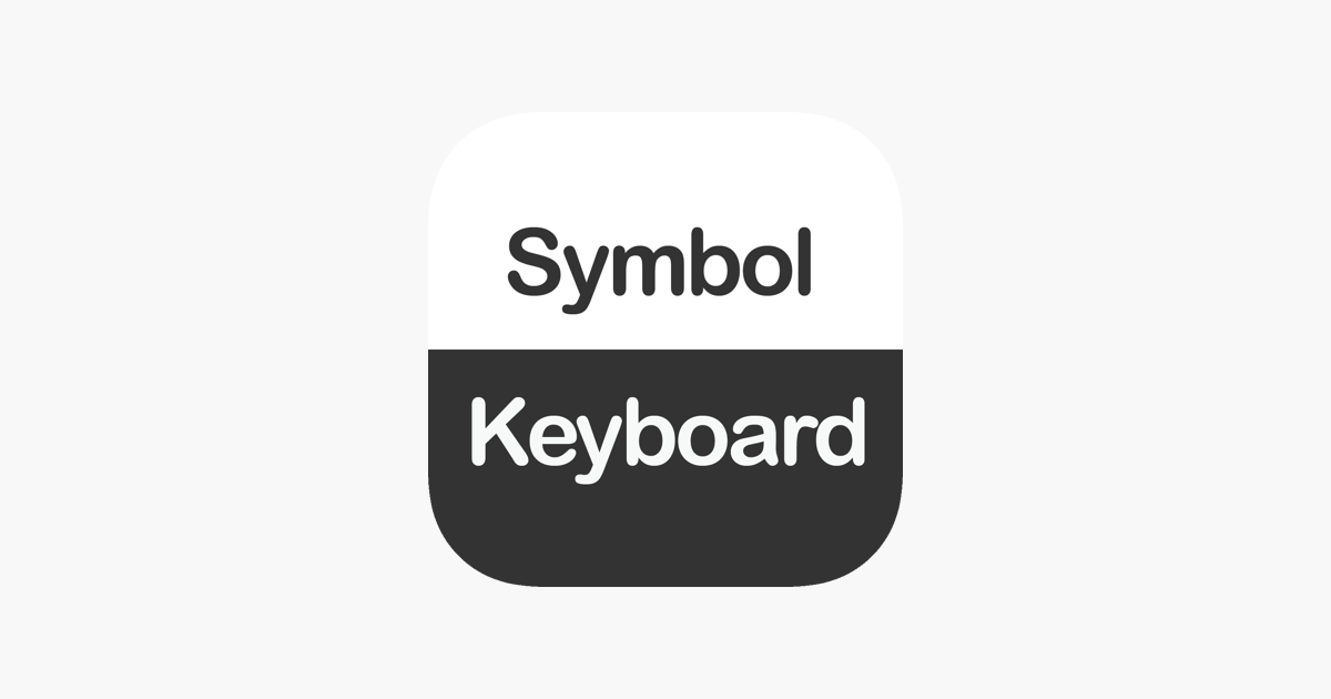 Symbol Keyboard - 2000+ Signs on the App Store