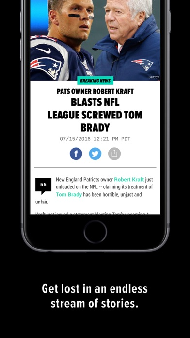 TMZ Sports Screenshot