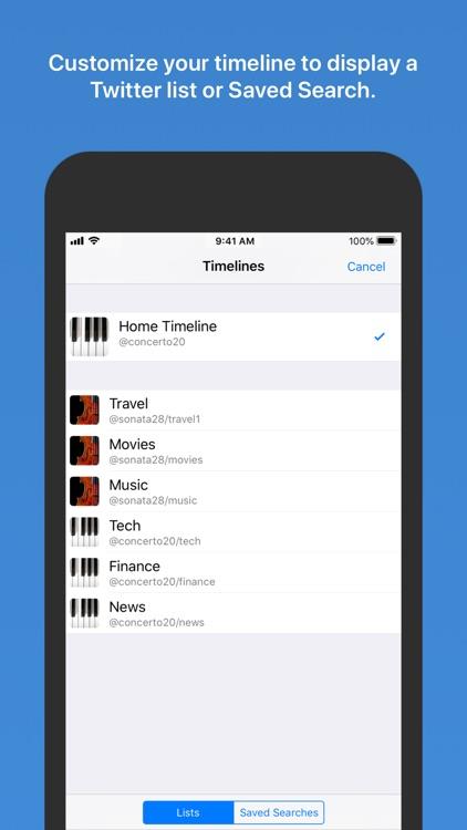Tweetlogix for Twitter screenshot-9