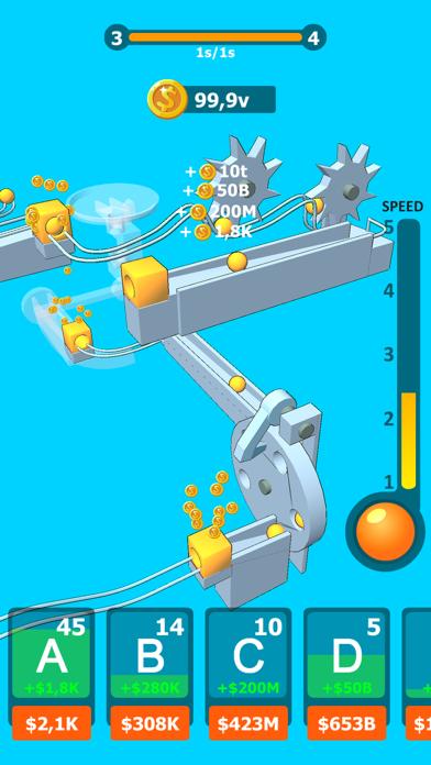 Balls Rollerz Idle 3D Puzzle screenshot 3