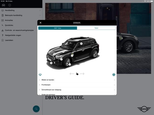 Mini Drivers Guide In De App Store