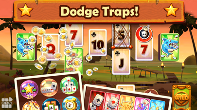 Solitaire TriPeaks Card Game Screenshot
