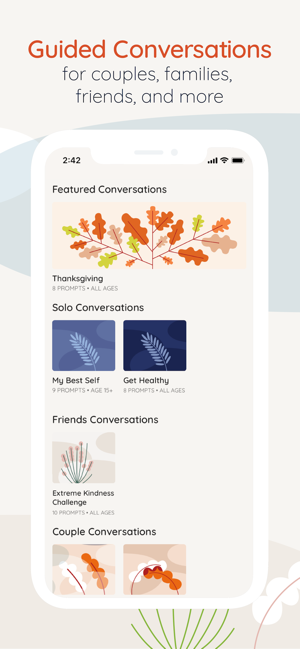 LongwalksムStart a Conversation on the App Store