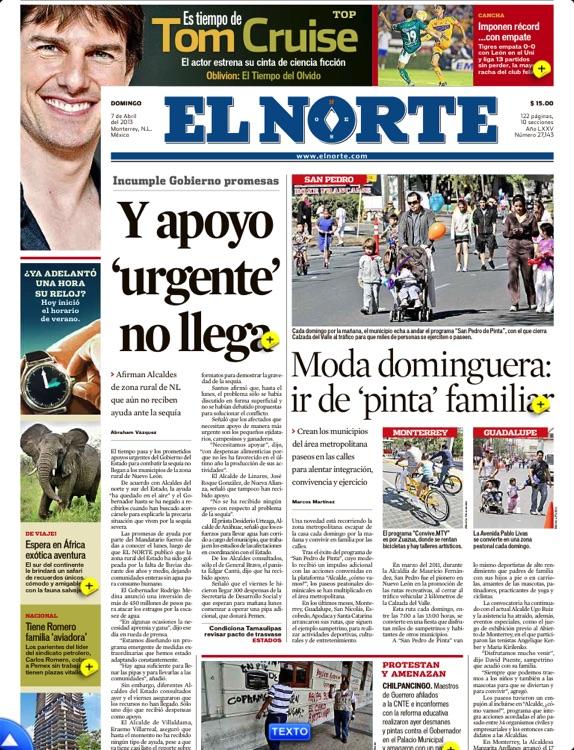 EL NORTE (en línea +impreso) screenshot-3