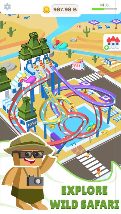 Idle Waterpark 3D Fun Aquapark screenshot 3