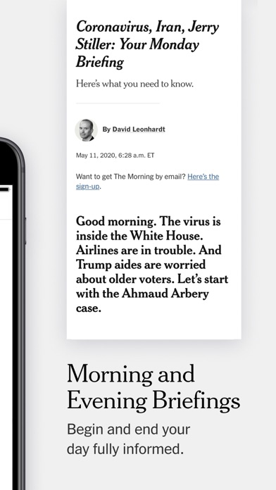 The New York Times screenshot two