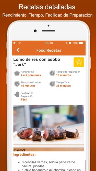Food Recetas Latin America screenshot two