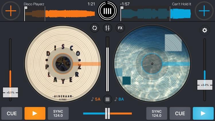 Cross DJ - dj mixer app screenshot-0