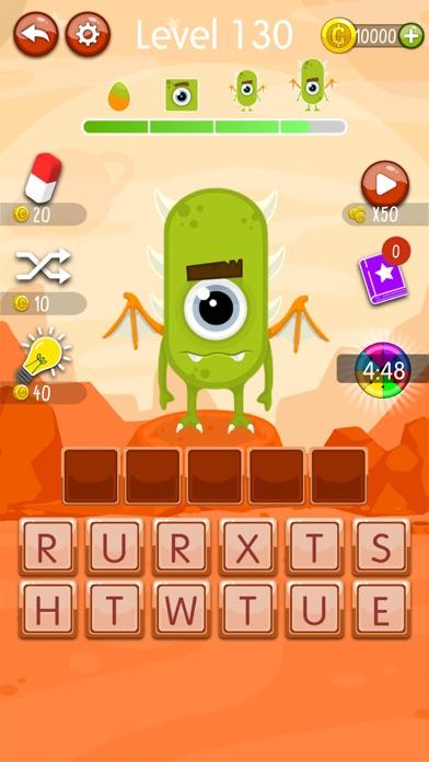 Word Monsters: Word Game screenshot 3