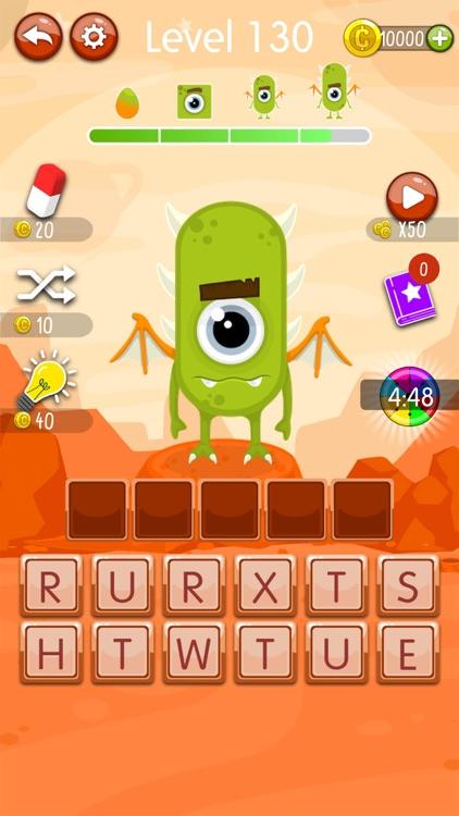 Word Monsters: Word Game