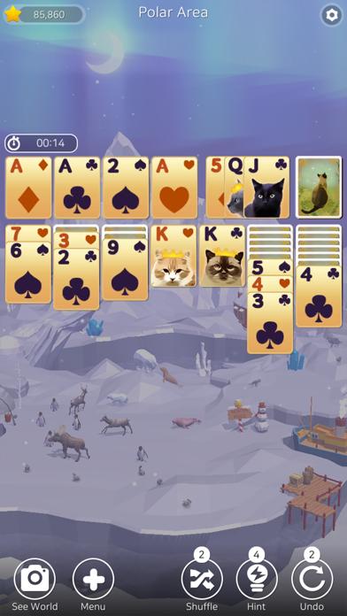 Solitaire Planet Zoo screenshot 7